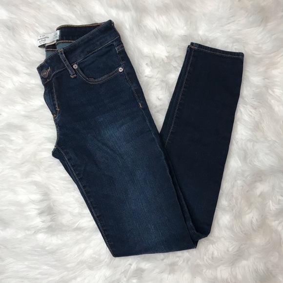 Abercrombie & Fitch Denim - Abercrombie & Fitch Juniors Super Skinny Jeans